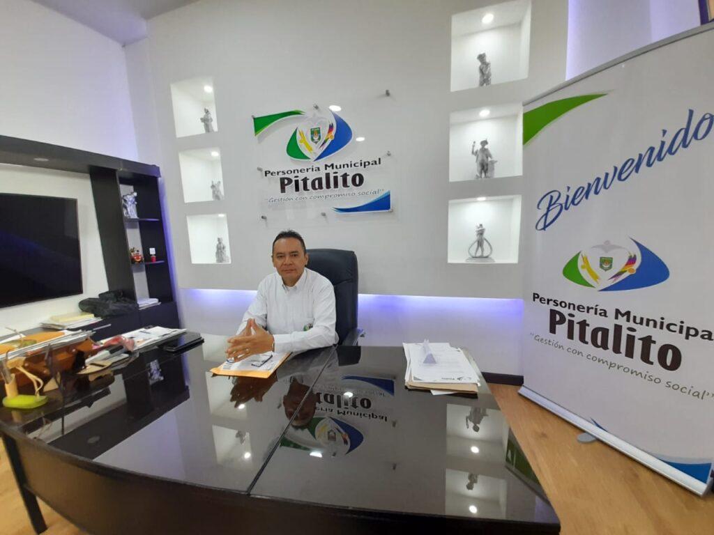 Personero Municipal Hernando Reyes Liscano