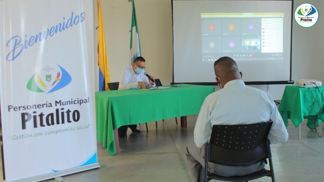 Coordinador Mesa municipal de victimas pitalito